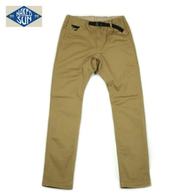 NAKED SUN ネイキッドサン フレキシブルパンツ flexible pants 017007005 COYOTE