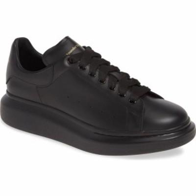 アレキサンダー マックイーン ALEXANDER MCQUEEN メンズ スニーカー ローカット シューズ・靴 Oversize Low Top Sneaker Black