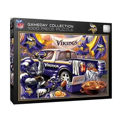 ジグソーパズル 海外製 アメリカ MIV1060 MasterPieces NFL Gameday Puzzles Collection - Minnesota V