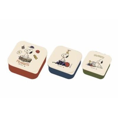 【SNOOPY】【スヌーピー】3Pランチボックスセット【ウッドストック】【すぬーぴー】【弁当箱】【お弁当】【絵本】【食事】【食器】【食卓