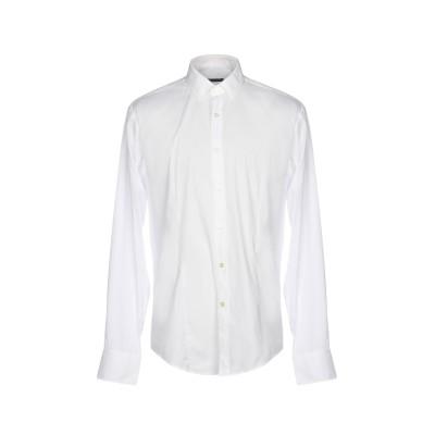 ブライアン デールズ BRIAN DALES シャツ ホワイト 40 コットン 80% / ナイロン 15% / ポリウレタン 5% シャツ
