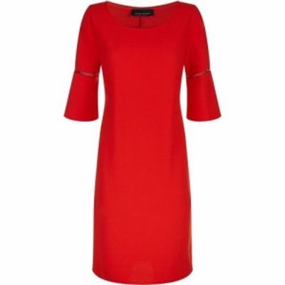 ジュームズ レイクランド James Lakeland レディース ワンピース ワンピース・ドレス Anita Pleat Sleeve Dress Red