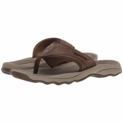 スペリー Sperry メンズ ビーチサンダル トングサンダル シューズ・靴 Outer Banks Thong Sandal Brown