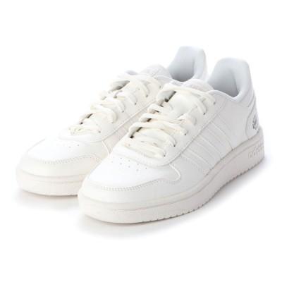 ラナン Ranan <adidas>アディフープススニーカー (WH)