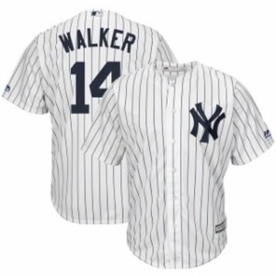 Majestic マジェスティック スポーツ用品  Majestic Neil Walker New York Yankees White Home Cool Base Player Jersey