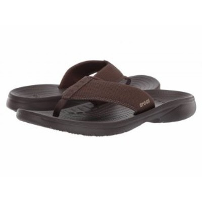 crocs クロックス メンズ 男性用 シューズ 靴 サンダル Bogota Flip Espresso/Espresso【送料無料】