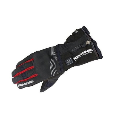 KOMINE(コミネ) コミネ EK−201 Protect E−Gloves 12V Black/Red 3XL