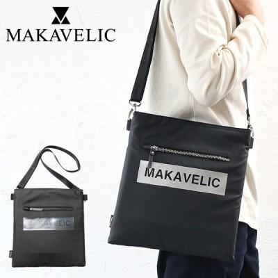 最大19%還元 マキャベリック ポーチ ミニショルダー ルーダス MAKAVELIC LUDUS BOX-LOGO SHOULDER BAG 3108-10502 二年保証 プレゼント 女性 男性