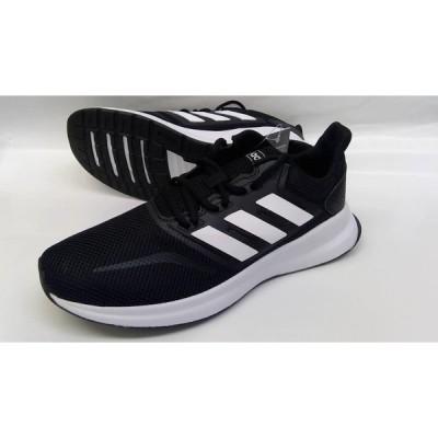 処分/adidasアディダス/ランニングシューズ/FALCONRUNM/F36199/ブラック×ホワイト/22028