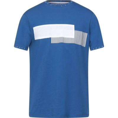 アルマーニ ARMANI EXCHANGE メンズ Tシャツ トップス T-Shirt Blue