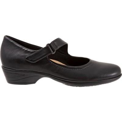 ブエノ Bueno レディース スリッポン・フラット シューズ・靴 Trotters Rona Mary Jane Flat Black