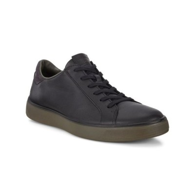 エコー メンズ スニーカー シューズ Men's Street Tray Classic Sneaker