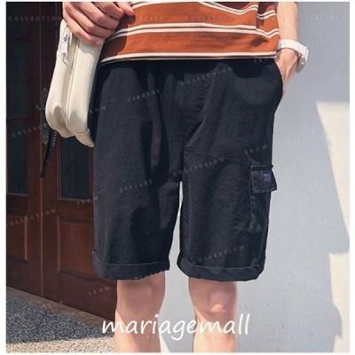カーゴパンツハーフパンツショートパンツメンズ膝上夏大きいサイズ短パン