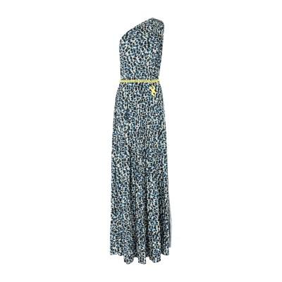 ELISABETTA FRANCHI ロングワンピース&ドレス ブラック 40 ポリエステル 92% / ポリウレタン 8% ロングワンピース&ドレス