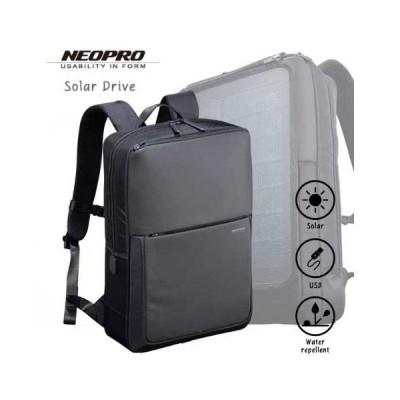 選べるノベルティ8種 クーポンあり あす楽 エンドー鞄 ビジネスバッグ メンズ 2-861 NEOPRO Solar Drive リュック ポリエステルドビー PC収納 スクエア メン…