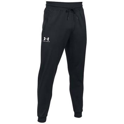 (取寄)アンダーアーマー メンズ スポーツスタイル ジョガー パンツ Under Armour Men's Sportstyle Jogger Pant Black / White 送料無料