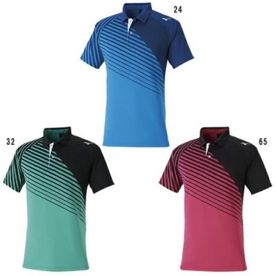 ミズノ ゲームシャツ 62JA0003 メンズ ユニセックス 2020SS バドミントン テニス ソフトテニス ゆうパケット(メール便)対応 半袖