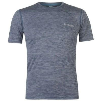 コロンビア Columbia メンズ Tシャツ トップス Zero T Shirt Carbon Heather