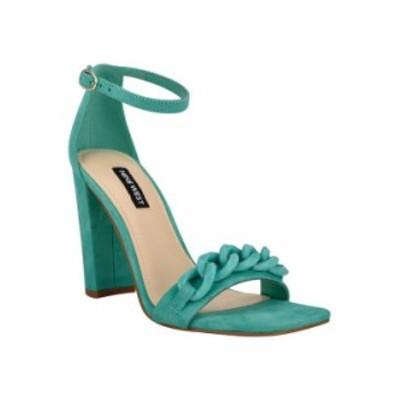 ナインウェスト レディース サンダル シューズ Women's Mindful Sky High Dress Sandals Sweet Green Suede