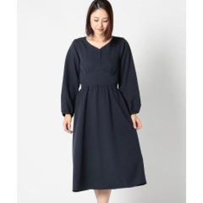 MEW'S REFINED CLOTHES袖レース切替ワンピース【お取り寄せ商品】