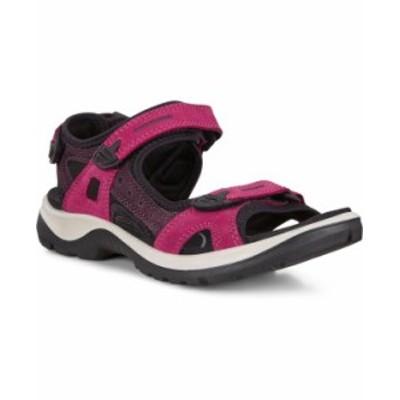 エコー レディース サンダル シューズ Women's Yucatan Sandals Sangria