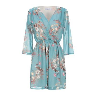 カオス KAOS ミニワンピース&ドレス ターコイズブルー 40 ポリエステル 100% ミニワンピース&ドレス