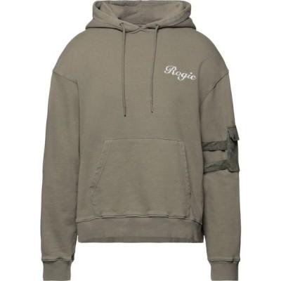 ロジック ROGIC メンズ パーカー トップス hooded sweatshirt Khaki