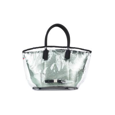 SAVE MY BAG ハンドバッグ ライトグリーン ポリエステル 50% / ナイロン 40% / ポリウレタン 10% / ポリ塩化ビニル ハン