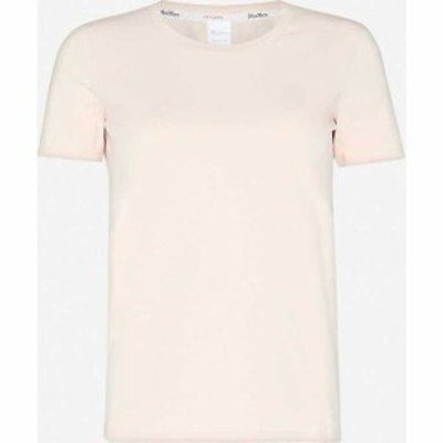 マックスマーラ MAX MARA レディース Tシャツ トップス Vagare stretch-cotton T-shirt CIPRIA