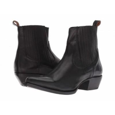 Frye フライ レディース 女性用 シューズ 靴 ブーツ チェルシーブーツ アンクル Sacha Chelsea Black Polished Soft Full【送料無料】