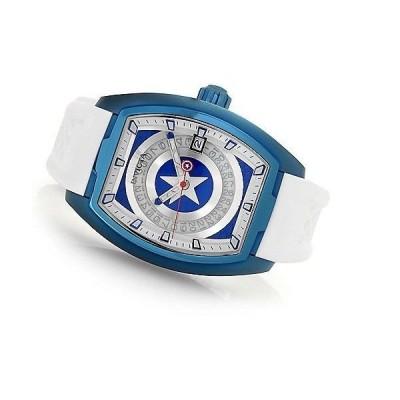 メンズ 腕時計 インヴィクタ New Mens Invica 26947 Marvel Captain American Tonneau AUTOMATIC  LE 46mm Watch