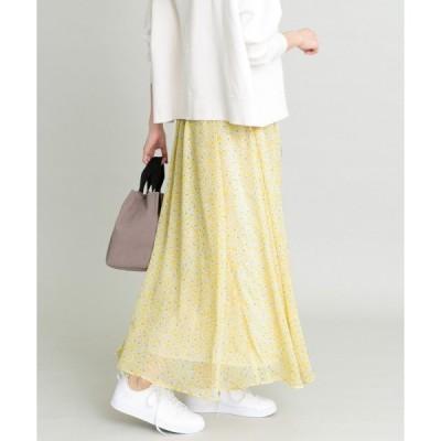 Sonny Label / サニーレーベル 小花柄シフォンスカート