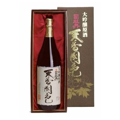 司牡丹 大吟醸原酒 天香国色 1.8L 1800ml x 3本 (ケース販売) (司牡丹酒造/高知県/OKN)