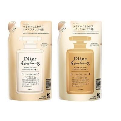 ダイアン ボヌール オレンジフラワーの香り モイストリラックス シャンプー&トリートメント 詰め替え 400ml セット Diane Bonheur  オーガニック