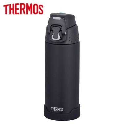サーモス 水筒 真空断熱スポーツボトル ワンタッチオープン 保冷専用 500ml マットブラック FJH-500 MTBK