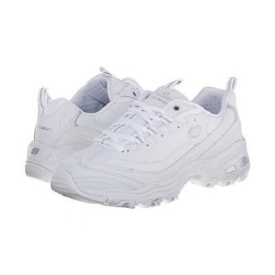 SKECHERS スケッチャーズ レディース 女性用 シューズ 靴 スニーカー 運動靴 D'Lites - Fresh Start - White