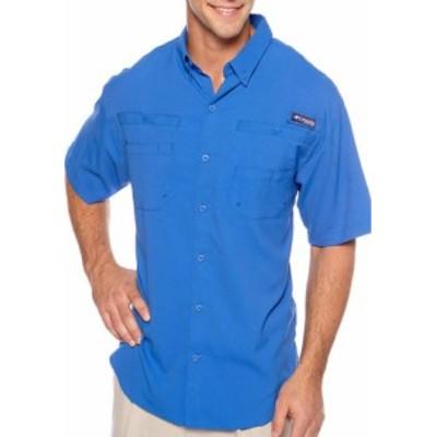 コロンビア メンズ シャツ トップス Tamiami II Short Sleeve Shirt Vivid Blue