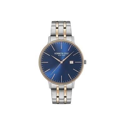 腕時計 ケネスコール Kenneth Cole New York Men's 'Classic' Quartz Stainless Steel Dress Watch, Col...