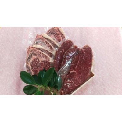 県産黒毛和牛ステーキセット