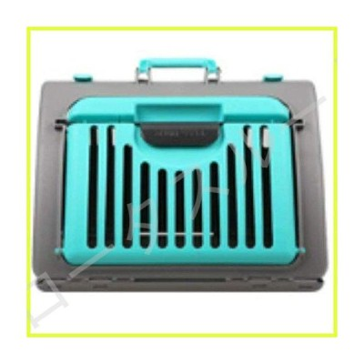 On The Go Large Folding Pet Carrier. Your cat or puppy travels stress free. Light weight durable PVC. Easy to clean and store. Comfortable t