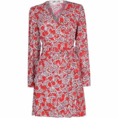 ダイアン フォン ファステンバーグ DIANE VON FURSTENBERG レディース ワンピース ミニ丈 ワンピース・ドレス Seville Mini Dress Ox Red