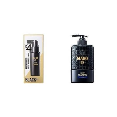 【セット買い】MARO17 ブラックプラス シリーズ コラーゲンショット 50ml & ブラックプラス シャンプー 350ml