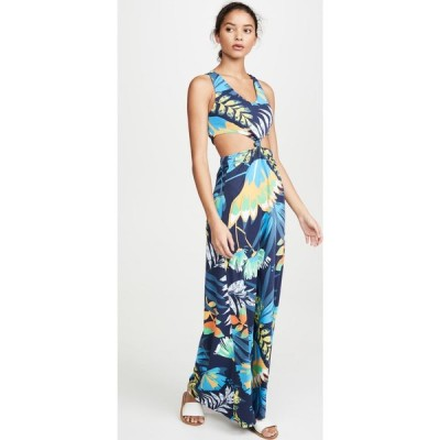 マージ Maaji レディース ワンピース ワンピース・ドレス Walk On Water Long Dress Blue