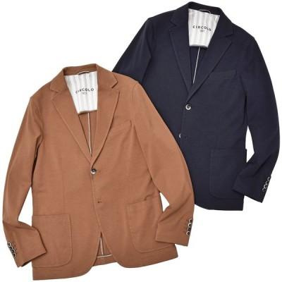 CIRCOLO 1901(チルコロ)コットン ストレッチ ライトジャージー シングル2Bジャケット