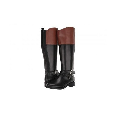 Bandolino バンドーリノ レディース 女性用 シューズ 靴 ブーツ ロングブーツ Jimani - Black/Luggage/Black