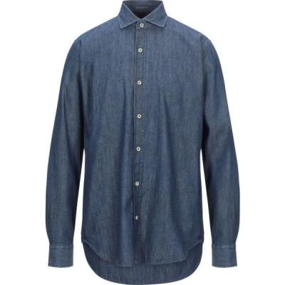 インピュア IMPURE メンズ シャツ デニム トップス denim shirt Blue