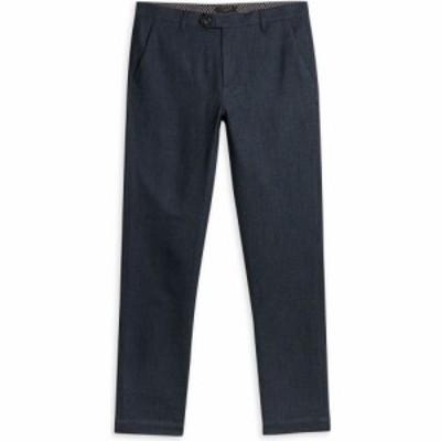 テッドベーカー Ted Baker メンズ スキニー・スリム ボトムス・パンツ Haloe Super Slim Fit Semi Plain Trouser NAVY