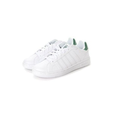 ケースイス KSWISS COURT MONTARA S (W) (White/Green)