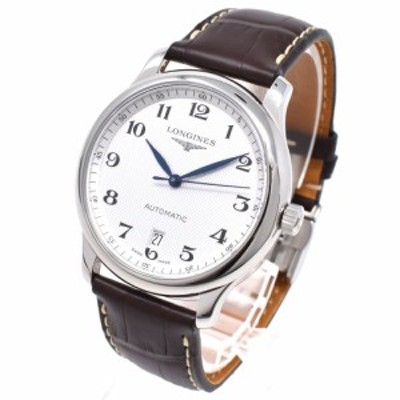 [即日発送]ロンジン メンズ 腕時計/LONGINES マスターコレクション オートマチック 自動巻き レザーベルト 腕時計 送料無料/込 誕生日プ