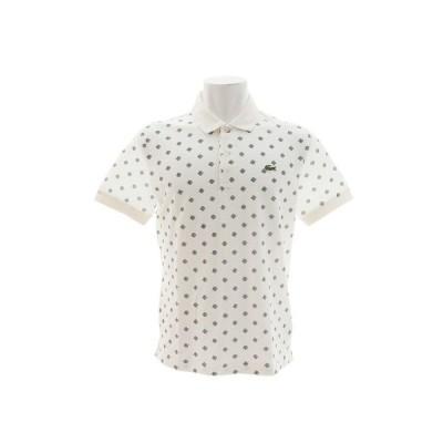 ラコステ(LACOSTE) ウルトラスリムペイズリー ポロシャツ PH3648L-CZV (メンズ)